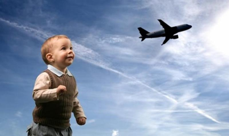 полет с ребенком