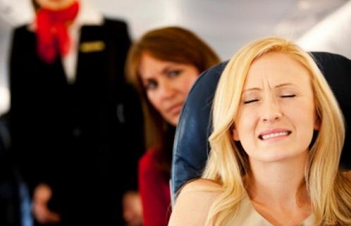 чувства страха во время полета