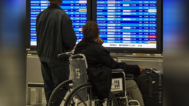Методы авиаперевозки людей